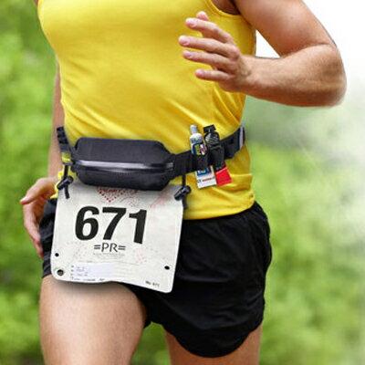 Avantree Racer 馬拉松   路跑防潑水 腰包 附號碼布扣 【SV7340】