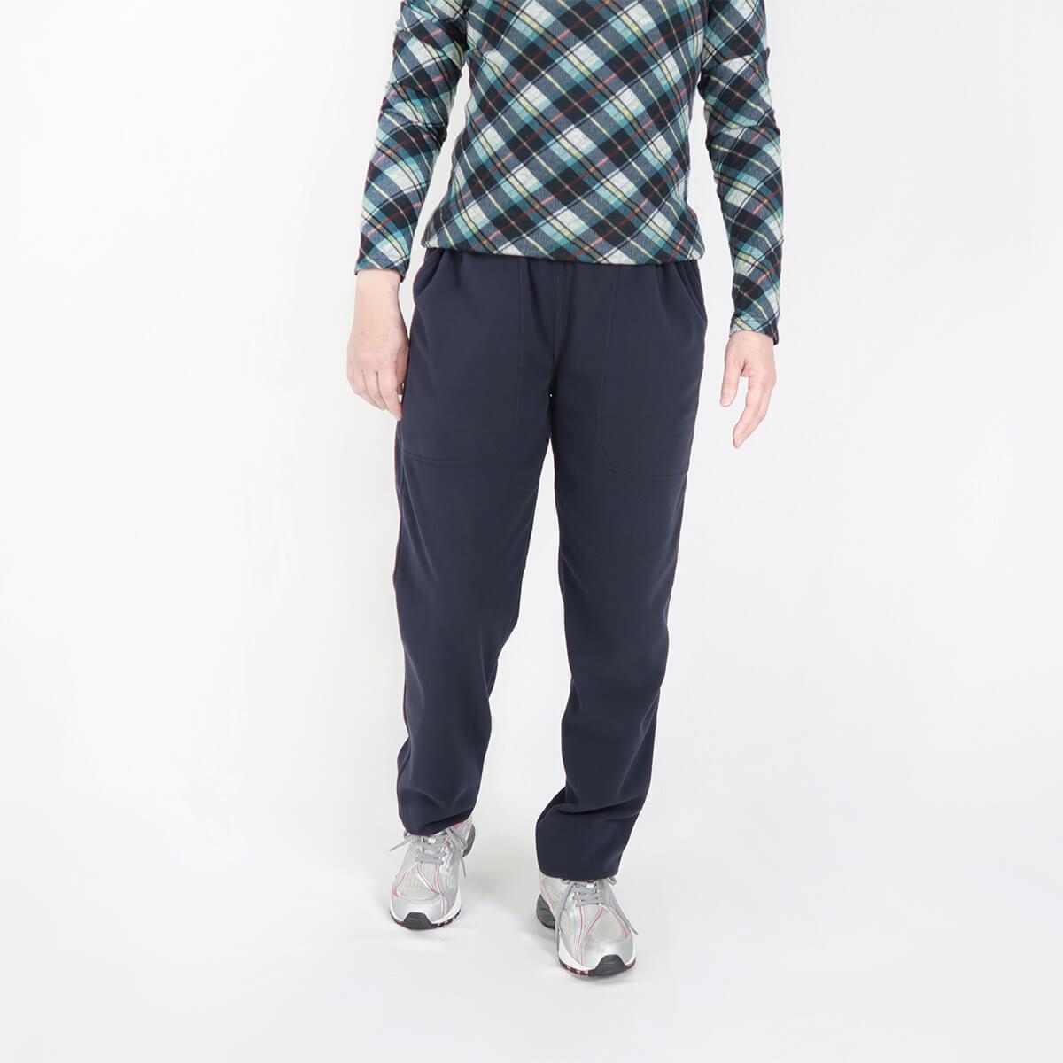 加大尺碼台灣製超細搖粒毛保暖褲 內裡刷毛保暖長褲 保暖棉褲長褲 機能纖維 全腰圍鬆緊帶 一件抵多件 MADE IN TAIWAN WARM FLEECE PANTS FLEECE LINED (020-2805-08)深藍色、(020-2805-19)深咖啡 腰圍M L XL 2L 3L(28~42英吋) 男女可穿 [實體店面保障] sun-e 5