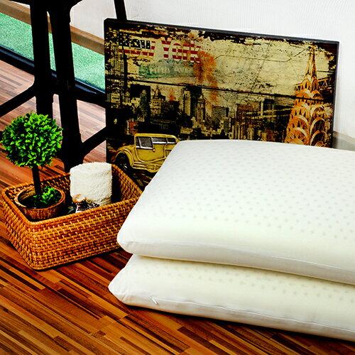 Moony-基本型乳膠枕-單入 伏貼肩頸 提昇睡眠品質 防蟲防蟎,避免細菌黴菌孳生