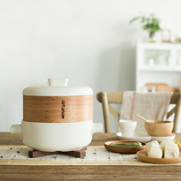 東方餐碗-迷你蒸籠砂鍋세트套裝 陶瓷砂鍋碗盤8件套裝七天預購+現貨
