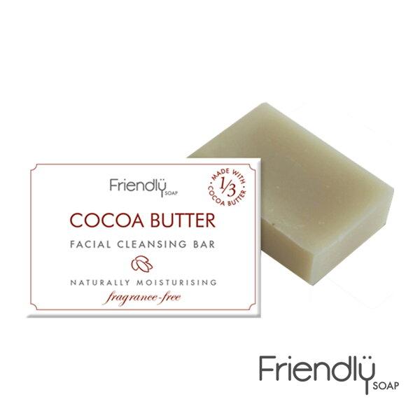 【英國富樂皂FRIENDLYSOAP】可可脂平衡潔顏皂