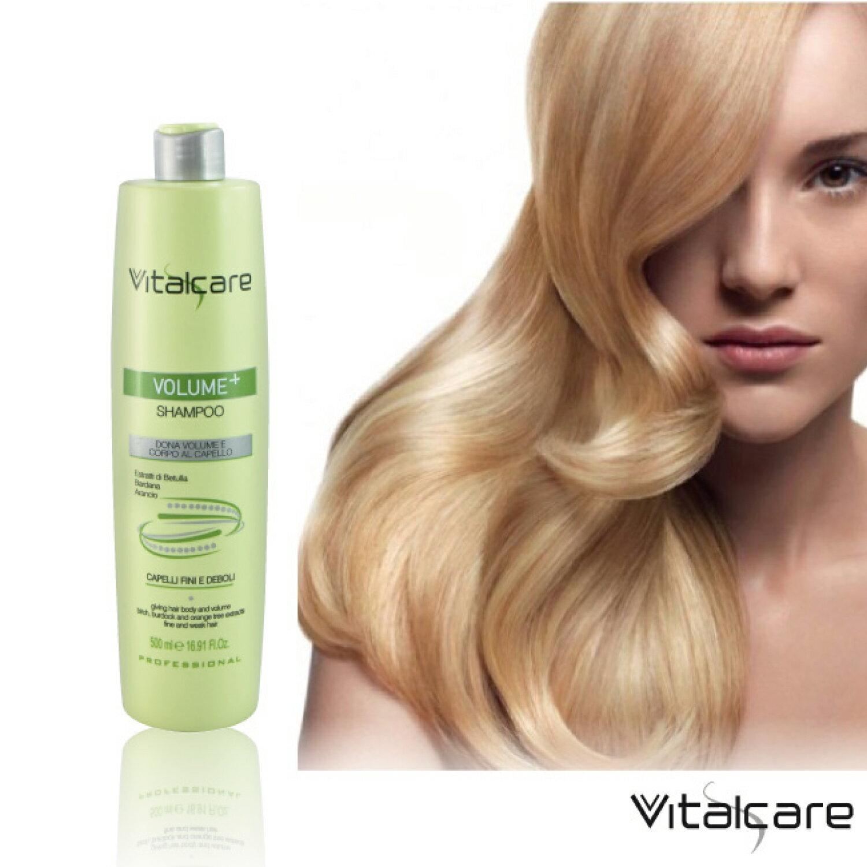 【蓓珂兒】豐滿輕盈洗髮精★義大利原裝Vitalcare(500ml) 0