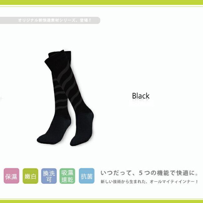 【婭薇恩】久坐久站推推脂螺旋加壓足膜襪★時尚塑身aLOVIN (小腿_百搭黑_M) 1
