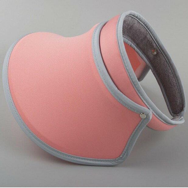 【西瓜紅】同款遮陽帽 伸縮美膚太陽帽夏季女防曬帽空頂帽帽紫外線 UV 腳踏車DIGITAL INTERNATI1029劉