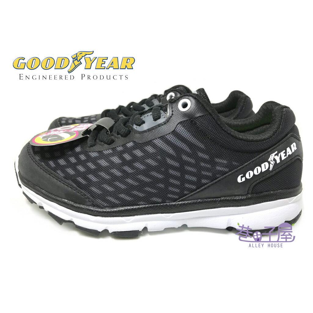 【巷子屋】GOODYEAR固特異 女款緩震越野運動慢跑鞋 [62600] 黑 超值價$590