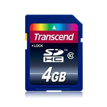 ~新風尚潮流~ 創見 SDHC記憶卡 4G 4GB C10 Class 10 終身 TS4