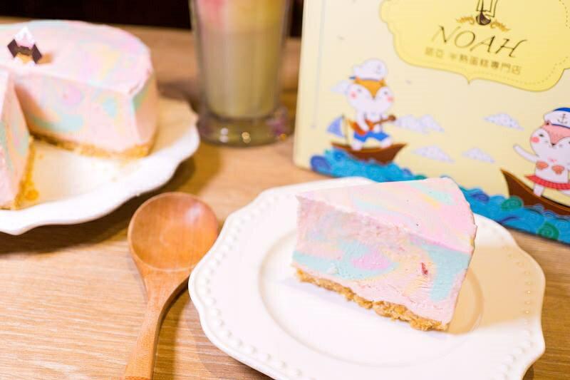 ★感謝綜藝大熱門★推薦!網友激推彩虹生乳酪在這>>犒賞大餐好咖彩虹生乳酪(6吋) 天然食材原色-生乳酪彩虹蛋糕 4