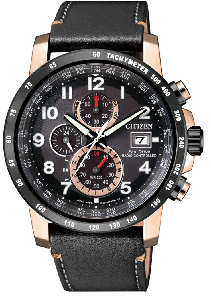 CITIZEN星辰錶 光動能電波對時AT8126-02E/43.1mm
