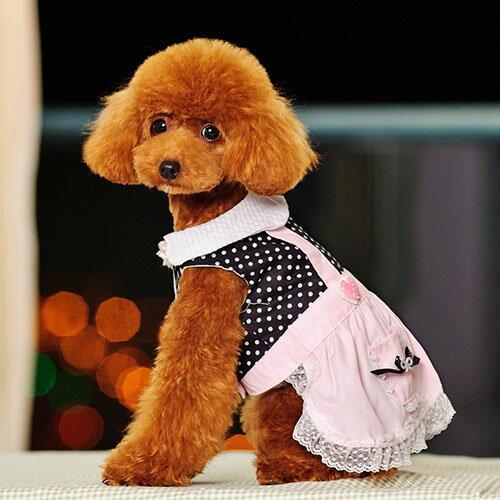 【小樂寵】點點星空嫩粉吊帶連身裙/連身褲
