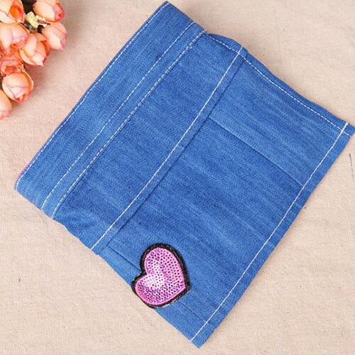 【小樂寵】可拆式亮片愛心牛仔裙裝生理褲