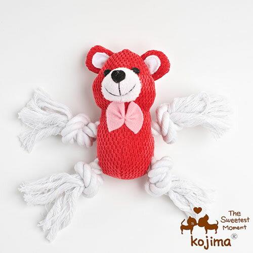 【小樂寵】Kojima 繩結直立動物玩具.五款