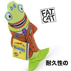 【小樂寵】Fatcat 紅衫西裝鯊魚耐咬帆布玩-35cm