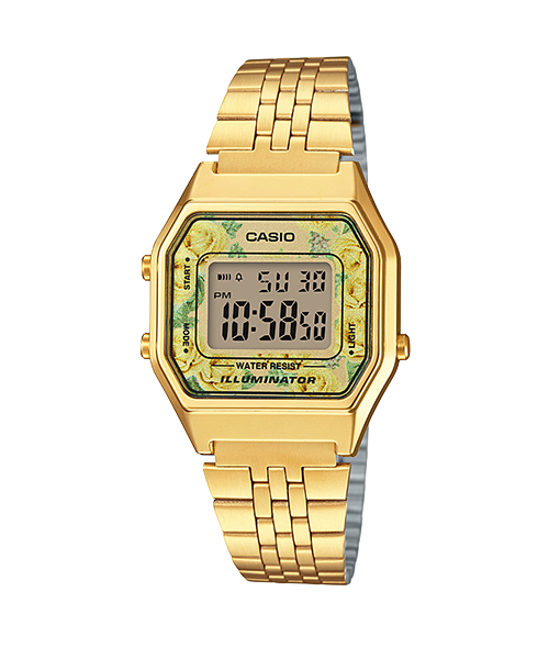 【CASIO】【女錶】【數位顯示錶】LA680WGA-9C 台灣公司貨 保固一年 附原廠保固卡 0