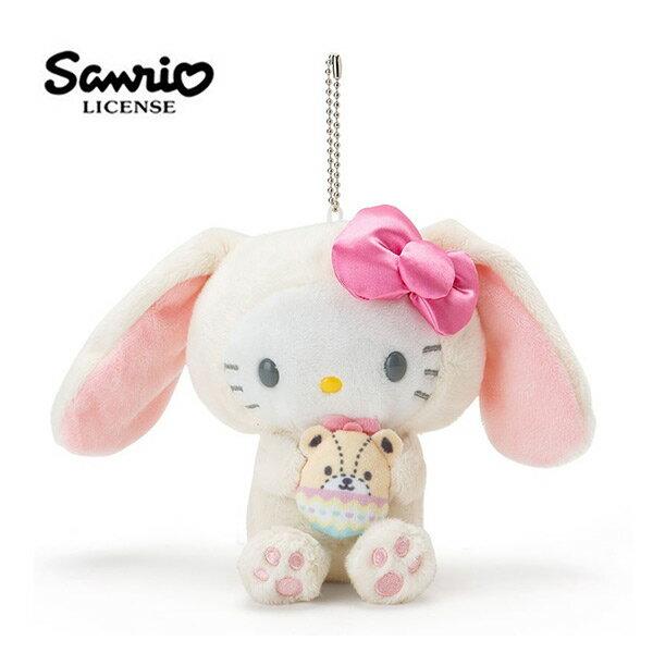 【日本正版】凱蒂貓 復活節彩蛋 玩偶 娃娃 吊飾 Hello Kitty 三麗鷗 Sanrio - 377154
