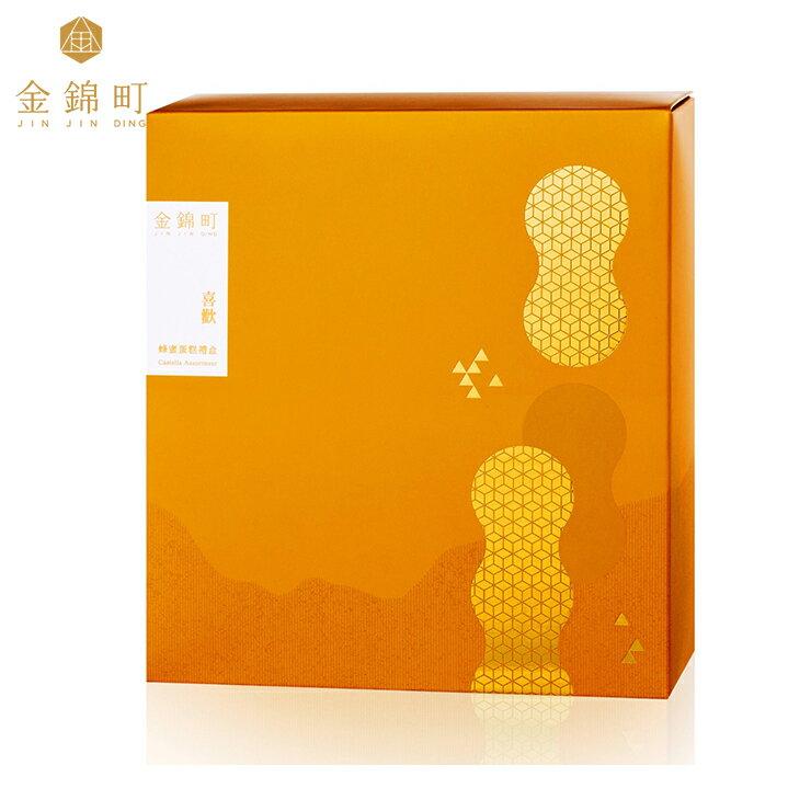 【金錦町】-喜歡禮盒(小)-青鳥金箔蜂蜜蛋糕(抹茶)/原味蜂蜜蛋糕