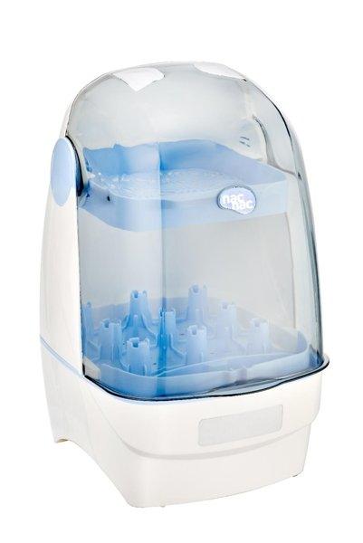 nac nac - T1 觸控式消毒烘乾鍋 / 消毒鍋 (藍色) 2750元+贈水垢清潔劑 1