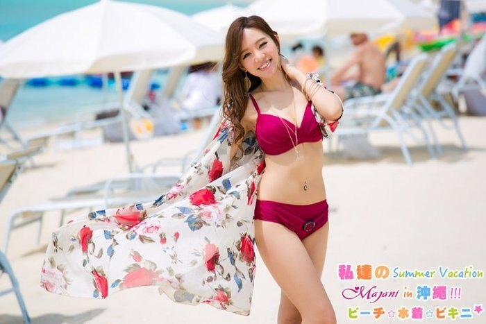 [瑪嘉妮Majani] 日系中大尺碼泳衣泳裝配件-大尺碼 超寬鬆 比基尼外罩衫 特349 bs-178