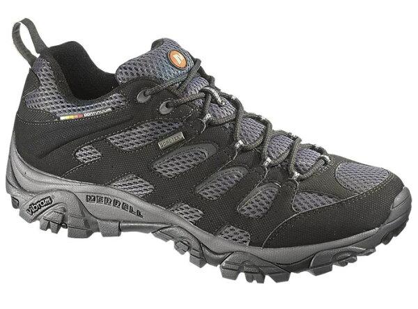 ├登山樂┤美國MERRELLMOABGORE-TEX健行用運動鞋-黑#ML15151