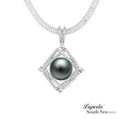 大東山珠寶璀璨之星頂級南洋大溪地黑珍珠項鍊極致閃耀