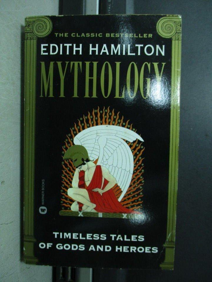 【書寶二手書T4/原文小說_NSZ】Edith hamilton Mythology
