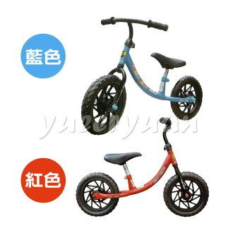 EMC 12吋兒童滑步平衡車 - 紅/藍【悅兒園婦幼生活館】