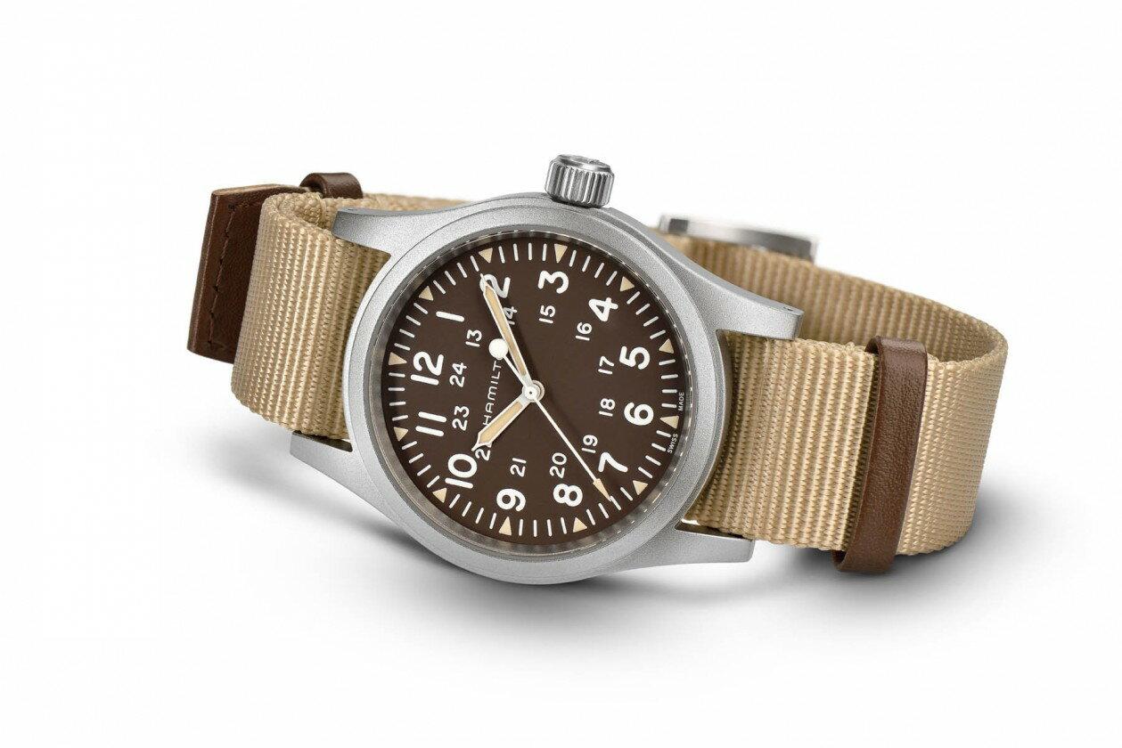 Hamilton 漢米爾頓 Khaki Field 卡其野戰系列軍事腕錶 H69429901 卡其色系 38mm 1