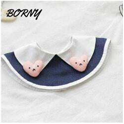 韓國【Borny】360度披肩造型旋轉圍兜 / 口水巾- 邱比特