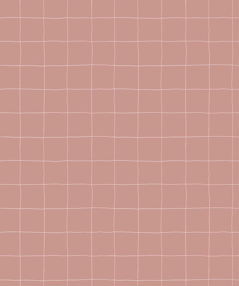 法國壁紙 格子紋圖案  3色可選  Season Paper x Heju合作壁紙 1