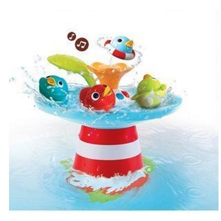 新款 以色列Yookidoo 音樂小鴨噴泉洗澡玩具 2