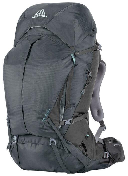【鄉野情戶外用品店】 Gregory |美國| Deva 60 登山背包《女款》/重裝背包 自助旅行背包-炭灰S/65033 【容量60L】