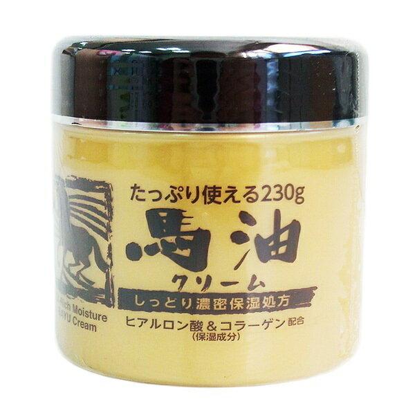 ∥露比私藏∥日本Ex-Rich Moisture馬油身體乳霜-230g