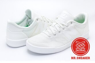 ☆Mr.Sneaker☆NEW BALANCE CRT300RL 韓系 NB帆布鞋 現貨 台灣公司正品 全白 男女尺寸