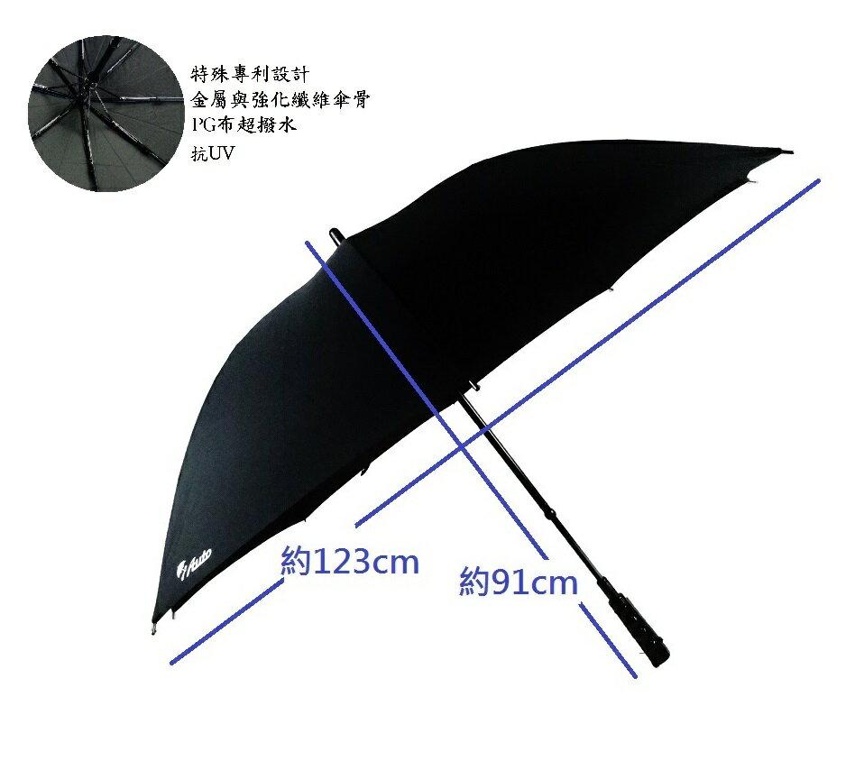 iAuto 傘 27吋 電動傘 直傘 全自動  黑色 免運費