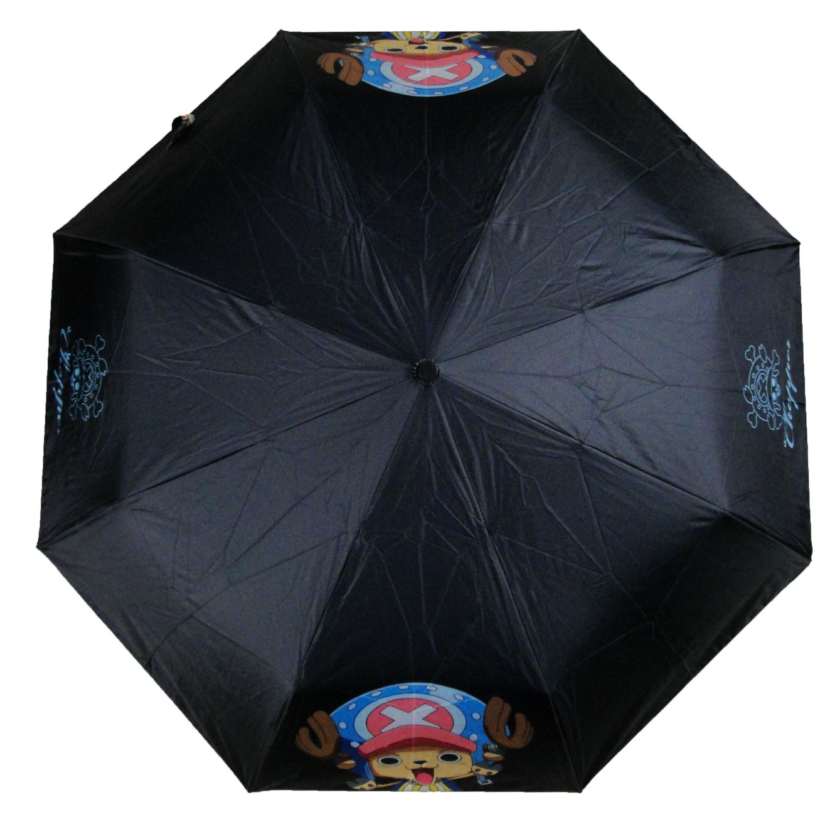 One Piece 航海王 海賊王 喬巴 Chopper 黑色 自動傘 雨傘 陽傘 晴雨傘