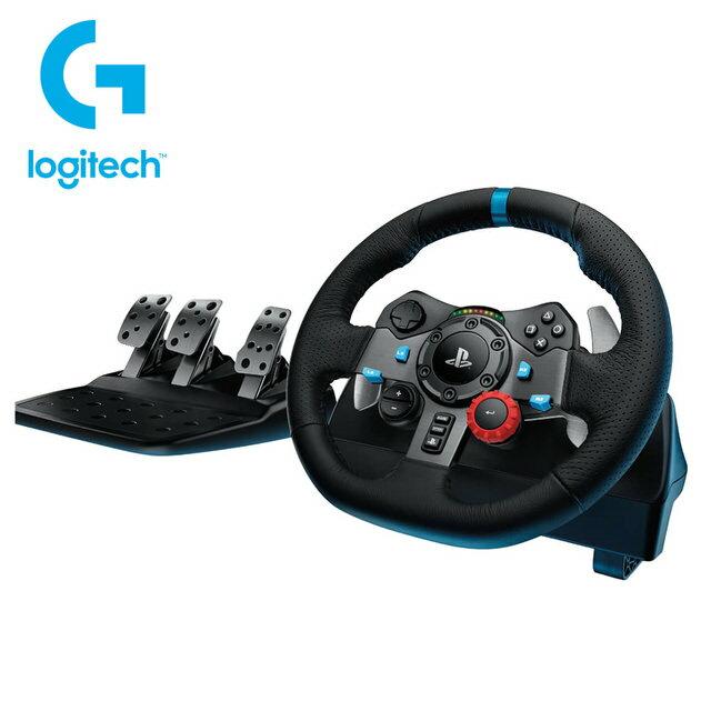 【Logitech 羅技】G29賽車方向盤★GT Sport上市活動期間贈送變速器