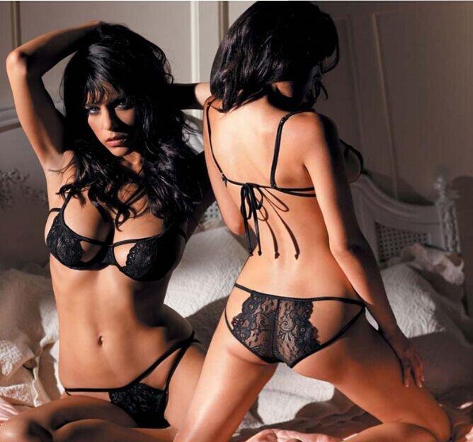 歐美情趣內衣 性感三點式比基尼綁帶情趣睡衣 多色 L4139