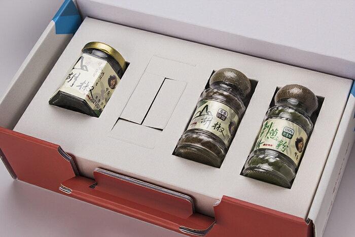 【翠蓮香甜Q蛋】馬告刺蔥禮盒3入裝