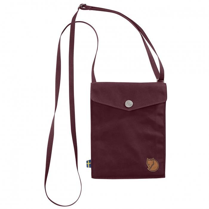 Fjallraven 瑞典北極狐 旅行隨身袋/護照包/口袋包 24221 Pocket 356 石榴紅