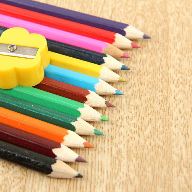 【省錢博士】彩色鉛筆12色木頭鉛筆 / 學生色鉛筆29元