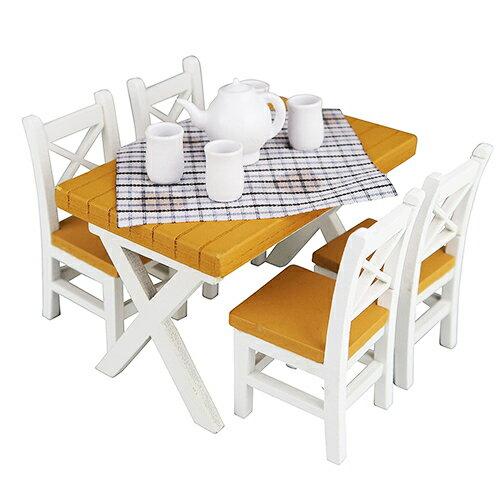 《NanoRoom迷你家具》NRL-008餐桌組