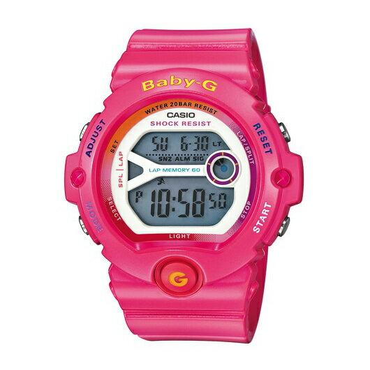 CASIO BABY-G BG-6903-4B春春耀動(粉紅)數位流行腕錶/白面45mm