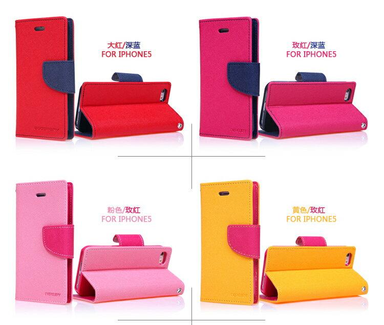 韓國Mercury雙色側翻手機皮套/可立式 2