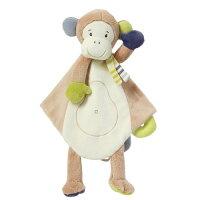babyFEHN 芬恩 - 叢林夥伴小猴安撫布偶奶嘴巾 【好窩生活節】 0