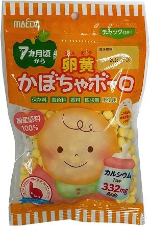 有樂町進口食品 日本進口 大阪前田南瓜嬰兒蛋酥 75g 491147306207 0