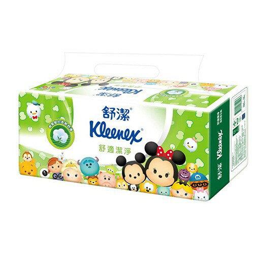 舒潔 Tsum Tsum限定版 舒潔 迪士尼舒適潔淨抽取衛生紙(100抽x72包/箱)