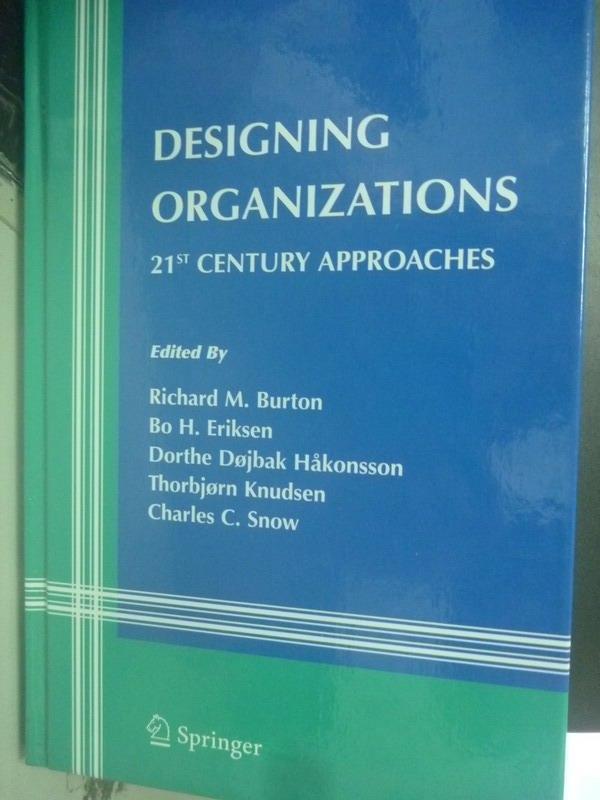 ~書寶 書T5/財經企管_XBO~Designing Organizations~21st