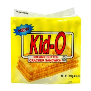 Kid-O 日清 奶油三明治 120g