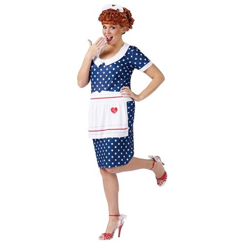 I Love Lucy Sassy Lucy Adult Halloween Costume 0
