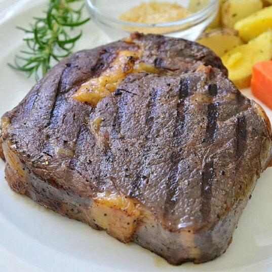 【熊小麥】舒肥厚切12盎司超滿足肋眼牛排*新鮮有機香料多重味覺饗宴* 0