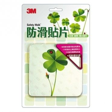 3M 防滑貼片 植物6入★Safetylite★滿899免運